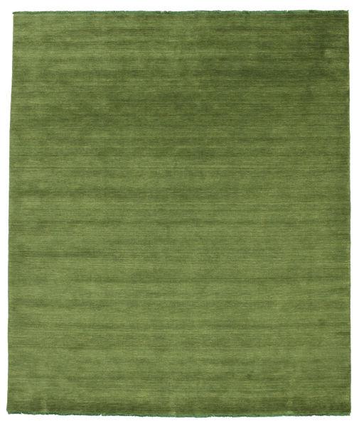 Handloom Fringes - Zöld Szőnyeg 250X300 Modern Olívazöld Nagy (Gyapjú, India)