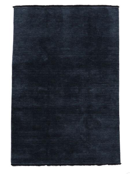Handloom Fringes - Sötétkék Szőnyeg 160X230 Modern Sötétkék (Gyapjú, India)