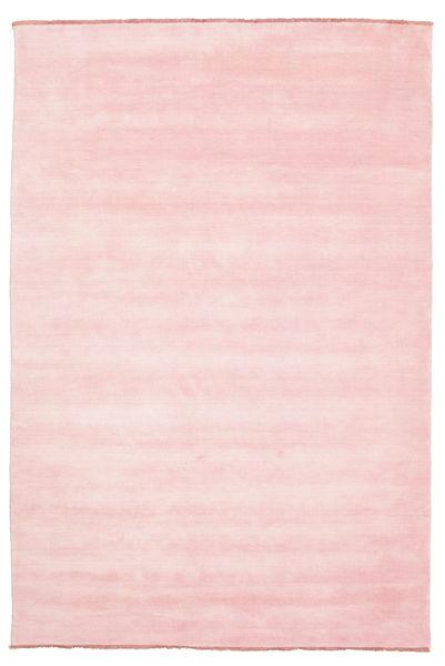Handloom Fringes - Rózsaszín Szőnyeg 200X300 Modern Világos Rózsaszín (Gyapjú, India)