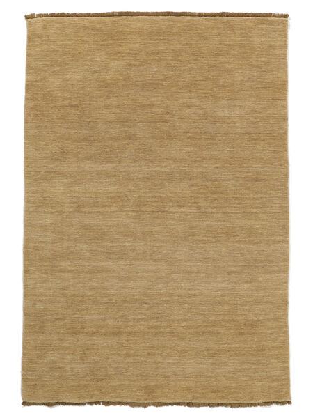 Handloom Fringes - Bézs Szőnyeg 200X300 Modern Sötét Bézs/Világosbarna (Gyapjú, India)