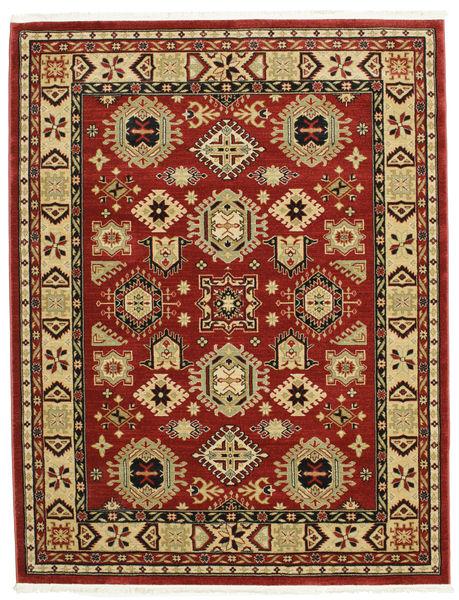 Shirvan Kazak Szőnyeg 200X250 Modern Sötétpiros/Bézs ( Törökország)