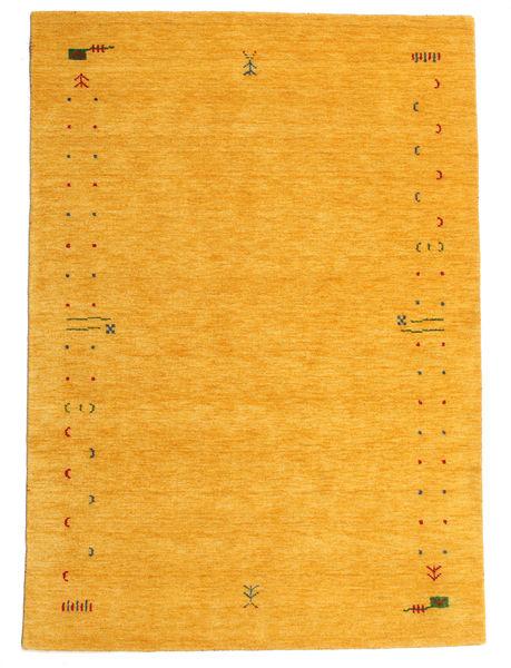 Gabbeh Loom Frame - Sárga Szőnyeg 160X230 Modern Narancssárga (Gyapjú, India)