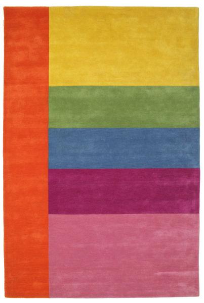 Colors By Meja Handtufted Szőnyeg 200X300 Modern Rózsaszín/Sárga (Gyapjú, India)
