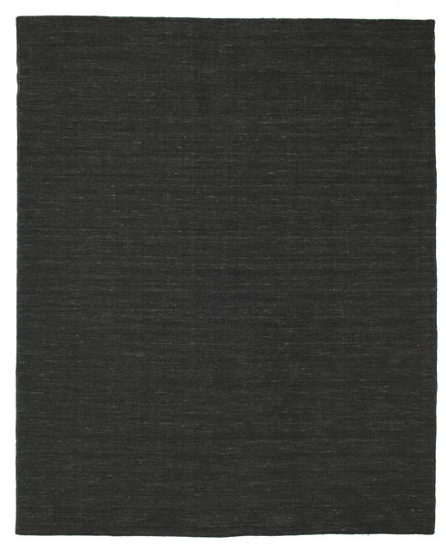 Kilim Loom - Fekete Szőnyeg 200X250 Modern Kézi Szövésű Fekete (Gyapjú, India)