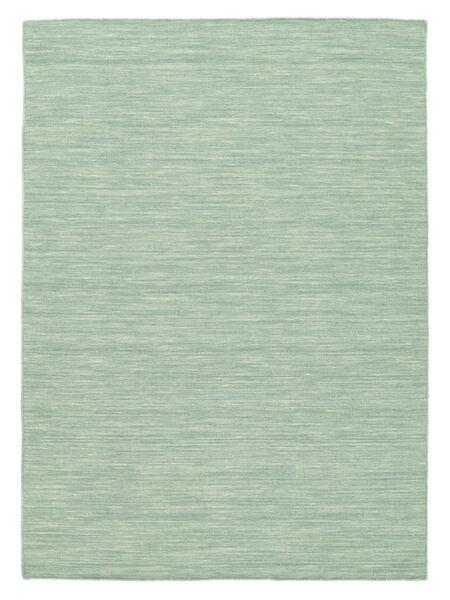 Kilim Loom - Mint Zöld Szőnyeg 160X230 Modern Kézi Szövésű Türkiz Kék/Pasztellzöld/Világoskék (Gyapjú, India)