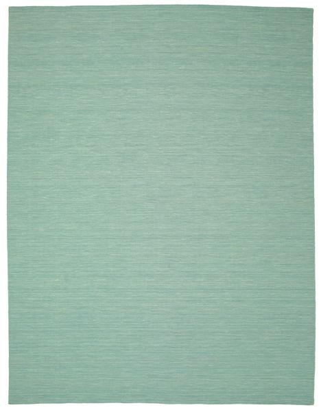 Kilim Loom - Mint Zöld Szőnyeg 300X400 Modern Kézi Szövésű Pasztellzöld/Türkiz Kék Nagy (Gyapjú, India)