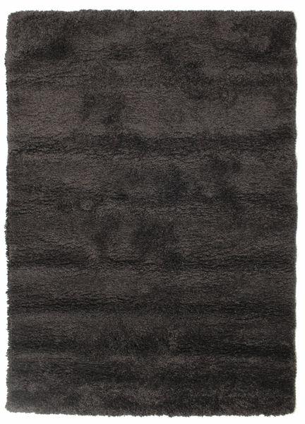 Shaggy Sadeh - Fekete/Szürke Szőnyeg 140X200 Modern Fekete/Sötétszürke ( Törökország)