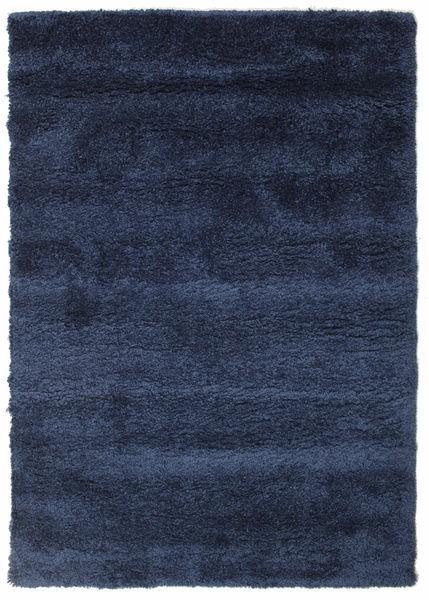 Shaggy Sadeh - Kék Szőnyeg 140X200 Modern Sötétkék/Sötétlila ( Törökország)