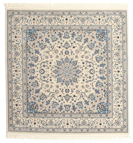 Nain Emilia - Bézs/Kék Szőnyeg 250X250 Keleti Szögletes Világosszürke/Bézs Nagy ( Törökország)