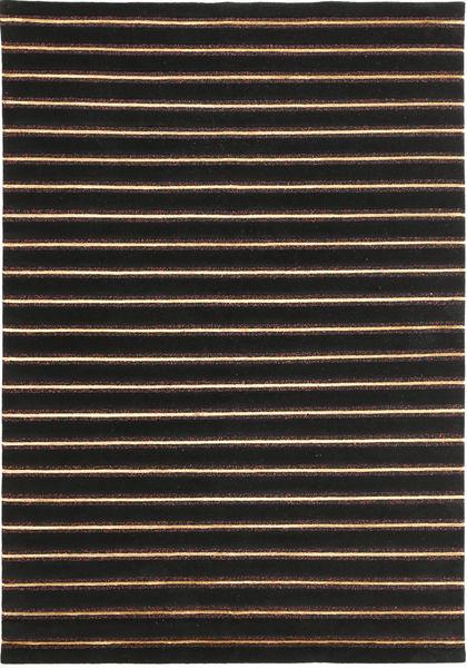 Himalaya Szőnyeg 170X246 Modern Csomózású Fekete/Sötétbarna ( India)