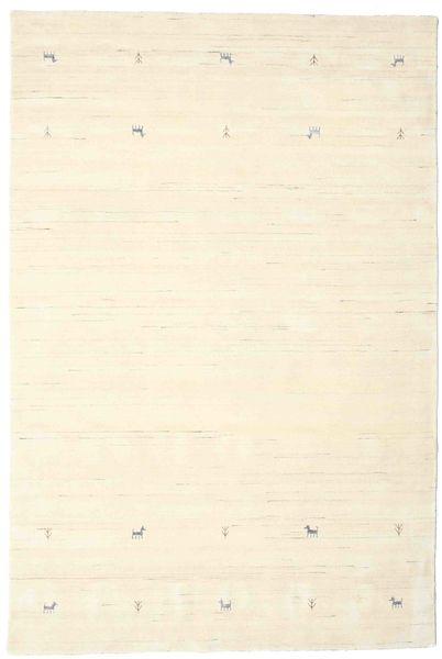 Gabbeh Loom Two Lines - Off White Szőnyeg 190X290 Modern Bézs/Bézs/Krém (Gyapjú, India)
