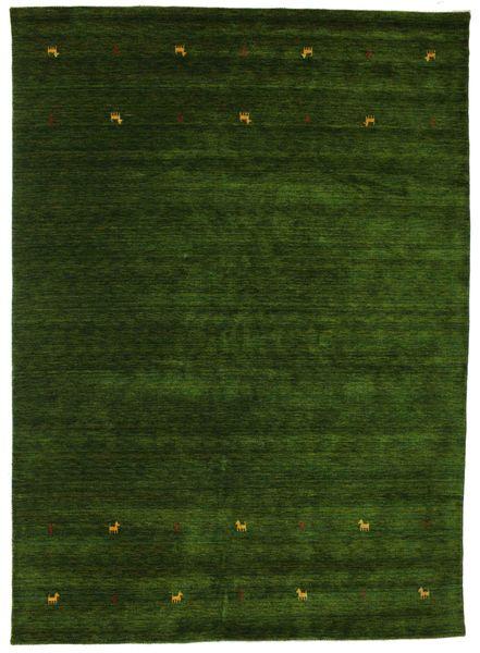 Gabbeh Loom Two Lines - Zöld Szőnyeg 240X340 Modern Sötétzöld (Gyapjú, India)