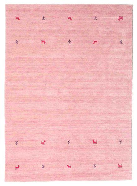 Gabbeh Loom Two Lines - Rózsaszín Szőnyeg 160X230 Modern Világos Rózsaszín (Gyapjú, India)