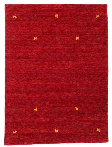 Gabbeh Loom Two Lines - Piros Szőnyeg 140X200 Modern Piros/Sötétpiros (Gyapjú, India)