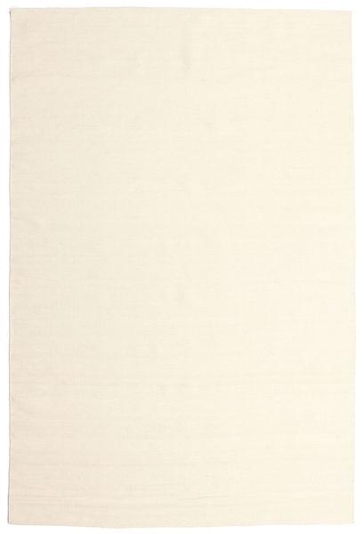 Kilim Loom - Off White Szőnyeg 200X300 Modern Kézi Szövésű Bézs/Bézs/Krém (Gyapjú, India)