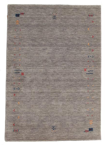 Gabbeh Loom Frame - Szürke Szőnyeg 140X200 Modern Világosszürke/Sötétszürke (Gyapjú, India)