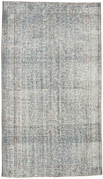 Colored Vintage Szőnyeg 169X294 Modern Csomózású Világosszürke/Türkiz Kék (Gyapjú, Törökország)