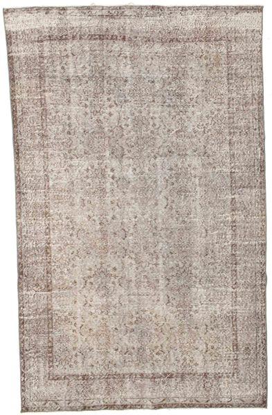 Colored Vintage Szőnyeg 176X278 Modern Csomózású Világosszürke/Bézs/Krém (Gyapjú, Törökország)
