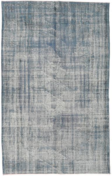Colored Vintage Szőnyeg 181X294 Modern Csomózású Világosszürke/Kék (Gyapjú, Törökország)