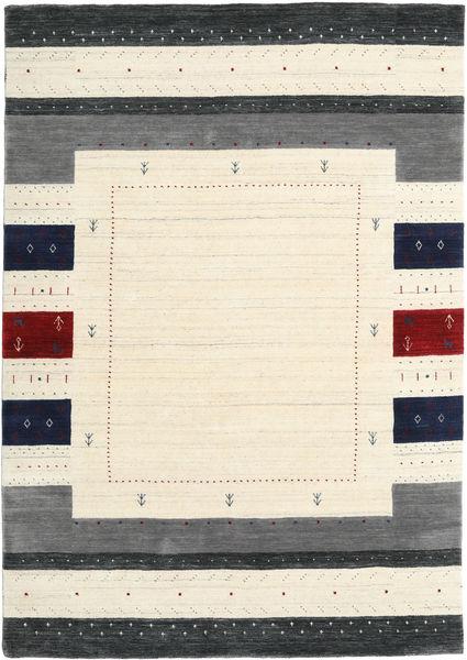 Loribaf Loom Designer Szőnyeg 160X230 Modern Bézs/Sötétszürke (Gyapjú, India)