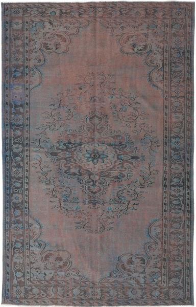 Colored Vintage Szőnyeg 170X276 Modern Csomózású Sötétbarna/Sötétszürke (Gyapjú, Törökország)