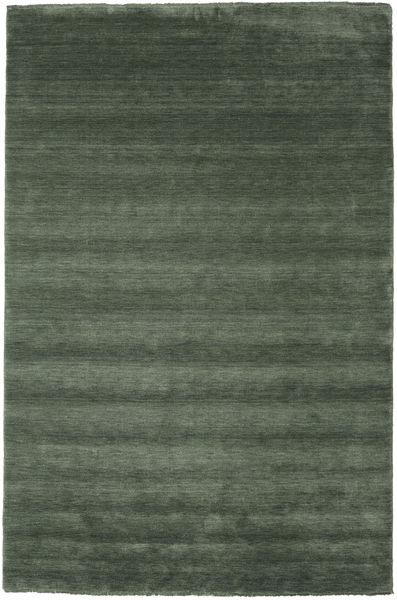 Handloom Fringes - Erdőzöld Szőnyeg 200X300 Modern Olívazöld/Sötétzöld (Gyapjú, India)