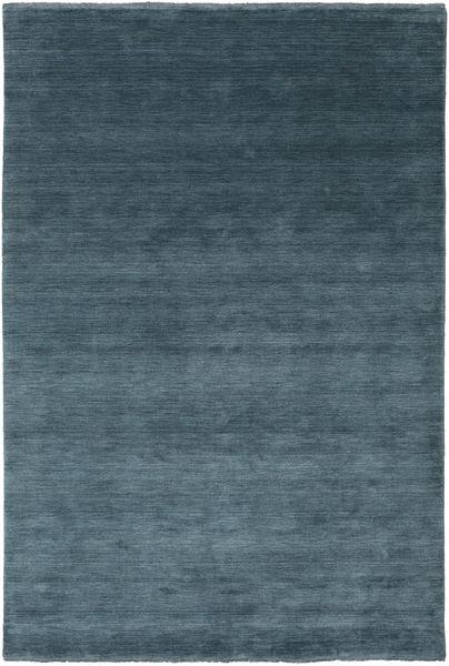 Handloom Fringes - Deep Petrol Szőnyeg 200X300 Modern Kék/Sötétkék (Gyapjú, India)