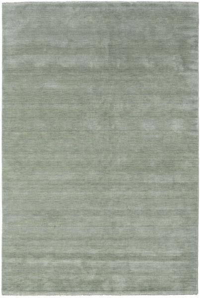 Handloom Fringes - Soft Teal Szőnyeg 200X300 Modern Világoszöld/Sötétszürke (Gyapjú, India)