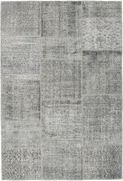 Patchwork Szőnyeg 157X233 Modern Csomózású Világosszürke/Sötétszürke (Gyapjú, Törökország)