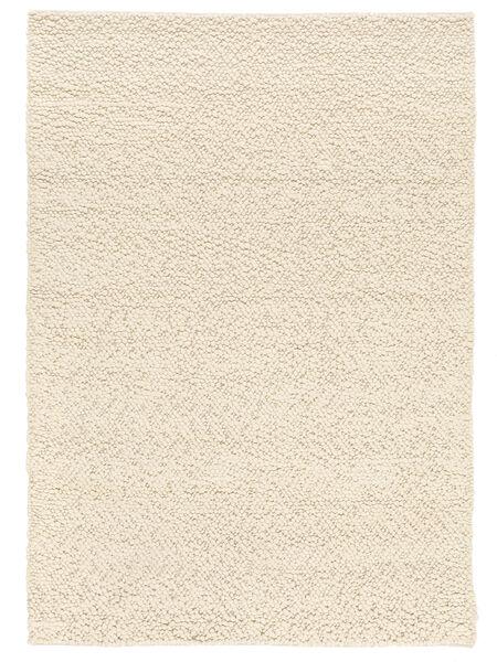Bubbles - Natural White Szőnyeg 170X240 Modern Bézs (Gyapjú, India)