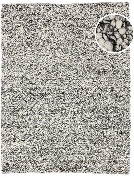 Bubbles - Melange Szürke Szőnyeg 170X240 Modern Világosszürke/Sötétszürke (Gyapjú, India)