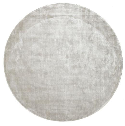 Broadway - Ezüst White Szőnyeg Ø 200 Modern Kerek Világosszürke ( India)