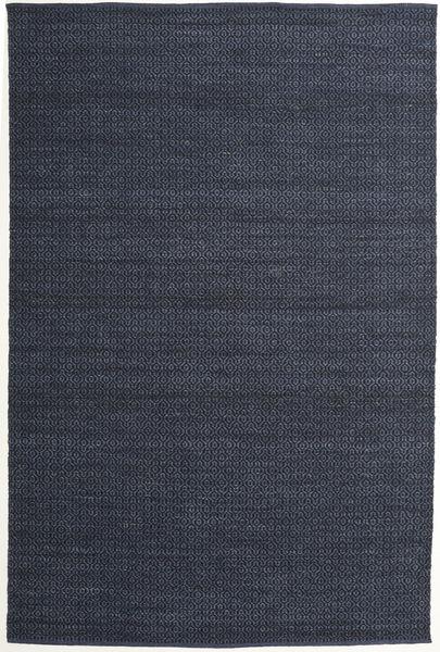 Alva - Kék/Fekete Szőnyeg 200X300 Modern Kézi Szövésű Sötétkék/Bíbor (Gyapjú, India)