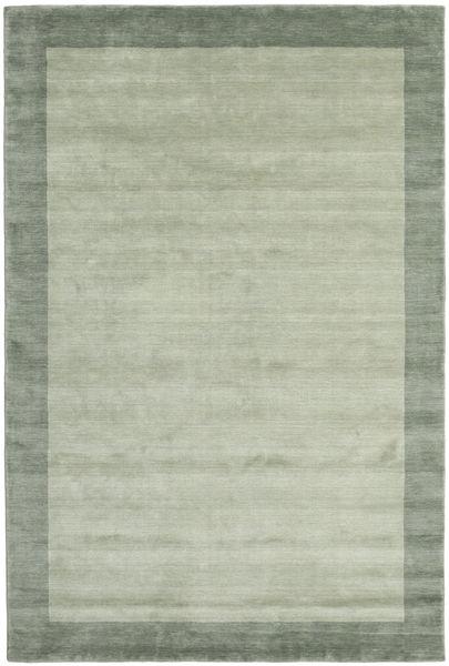 Handloom Frame - Szürke/Zöld Szőnyeg 200X300 Modern Világoszöld/Pasztellzöld (Gyapjú, India)