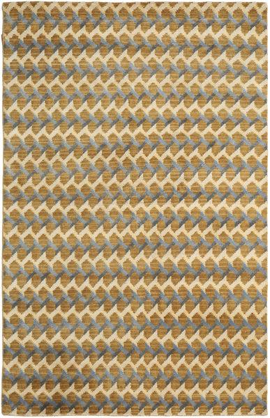 Sandnes Szőnyeg 270X360 Modern Csomózású Világosbarna/Bézs Nagy (Gyapjú, India)