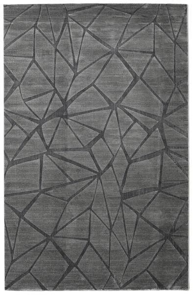 Patio - Szürke Szőnyeg 200X300 Modern Sötétszürke/Fekete ( Törökország)