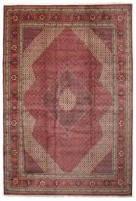 Sarab Szőnyeg 400X610 Keleti Csomózású Sötétpiros/Barna Nagy (Gyapjú, Perzsia/Irán)