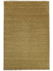 Handloom Fringes - Olívazöld Szőnyeg 200X300 Modern Barna/Olívazöld (Gyapjú, India)