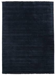 Handloom Fringes - Sötétkék Szőnyeg 200X300 Modern Sötétkék/Kék (Gyapjú, India)