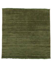 Handloom Fringes - Zöld Szőnyeg 200X250 Modern Olívazöld/Sötétzöld (Gyapjú, India)
