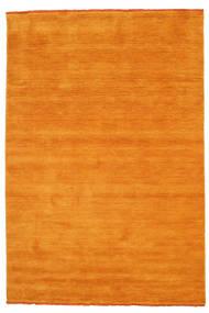 Handloom Fringes - Narancssárga Szőnyeg 160X230 Modern Narancssárga/Világosbarna (Gyapjú, India)