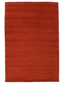 Handloom Fringes - Rozsdaszín/Piros Szőnyeg 160X230 Modern Rozsdaszín/Narancssárga (Gyapjú, India)