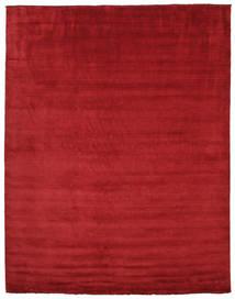 Handloom Fringes - Sötétpiros Szőnyeg 300X400 Modern Piros Nagy (Gyapjú, India)