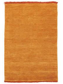 Handloom Fringes - Narancssárga Szőnyeg 140X200 Modern Narancssárga/Világosbarna (Gyapjú, India)