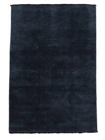Handloom Fringes - Sötétkék Szőnyeg 140X200 Modern Sötétkék/Kék (Gyapjú, India)