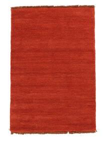 Handloom Fringes - Rozsdaszín/Piros Szőnyeg 140X200 Modern Rozsdaszín (Gyapjú, India)