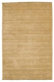 Handloom Fringes - Bézs Szőnyeg 120X180 Modern Sötét Bézs/Világosbarna (Gyapjú, India)
