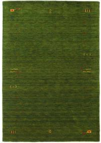 Gabbeh Loom Frame - Zöld Szőnyeg 160X230 Modern Sötétzöld (Gyapjú, India)