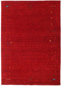 Gabbeh Loom Frame - Piros Szőnyeg 160X230 Modern Piros/Sötétpiros (Gyapjú, India)