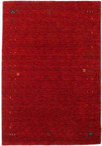 Gabbeh Loom Frame - Piros Szőnyeg 140X200 Modern Sötétpiros/Piros (Gyapjú, India)